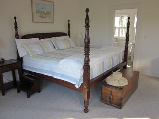 Edgartown cottage photo - Upstairs Master Bedroom (King)