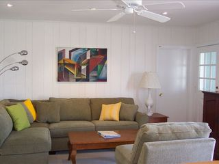 Stone Harbor property rental photo - New Living Rm. Sectional Furniture,HDtv, Internet Wireless