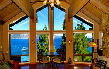 Crystal Bay estate rental - Great Room View forever