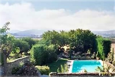 You will awake to a view of the Luberon over your private pool and rose garden.