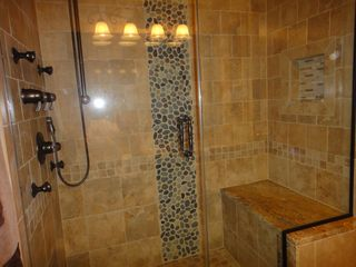 Mount Snow condo photo - Master Bath Shower