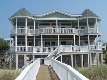 Fripp Island house rental - View of Back of Home