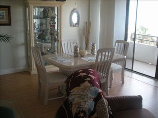 Flagler Beach condo photo - Dining with a view of ocean
