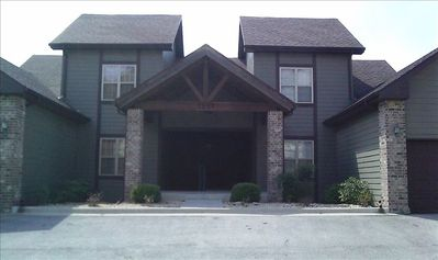 Branson West villa rental - Outside 1251 Golf Drive Condo Villa Unit # 1