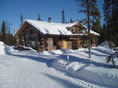 LAPLAND  LOG CABINS  Luosto  - Gregory A