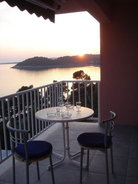 New apartments on the beautiful island of Korcula, 50m above the sea - Large studio