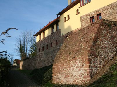 wonderful apartment on a castle wall, with big terrace and beautiful view