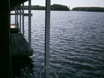 View from lower dock looking east.