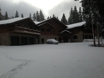 Breckenridge lodge rental - October 18, 2013. Looks like it is going to be a great ski season!