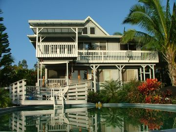 Hilo house rental - Paradise Point with Private Swimming Pool