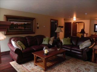 Avon condo photo - Soft Italian leather sofas