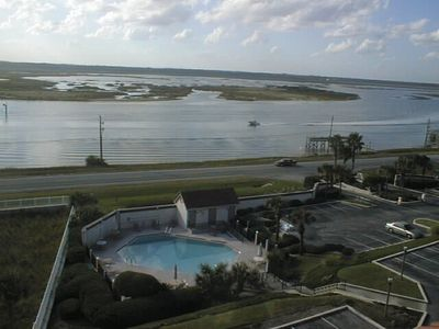 View from roof overlooking the pool & Intracoast