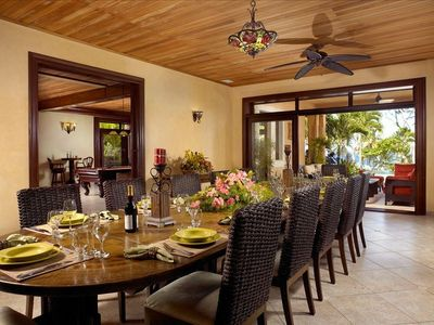 Cabrera villa rental - Dining room for 30+