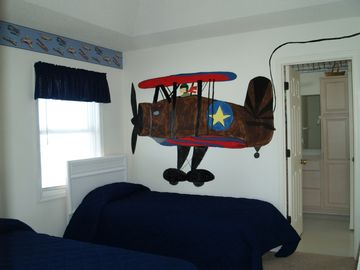 Twin Bedroom Joy of Flying