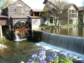 Sevierville cabin photo - Old Mill Restaurant just three miles from Tiffany Ridge Cabin.