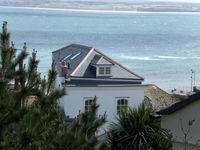 Luxury penthouse apartment, stunning views, heart of St Ives