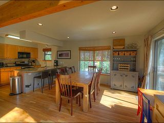 Breckenridge townhome photo - Enjoy a Home Cooked Meal at the Dining Table or Breakfast Bar