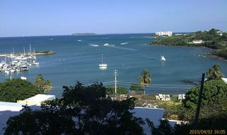 Fajardo condo photo - Two Marines in front, you will see sailboats, Catamarans, Ferries, Parasailing