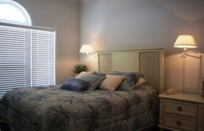 Queen Size Bedroom, all bedrooms have ocean view