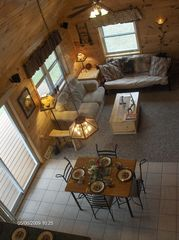 Munising cottage photo - View from the loft!