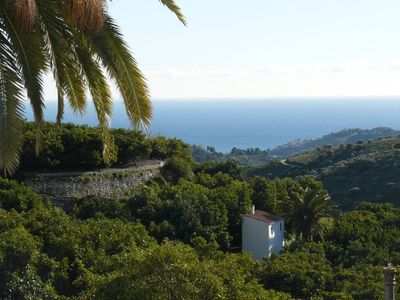 Frigiliana: Charming flat with view over the Med and the surrounding mountains - 4 pers