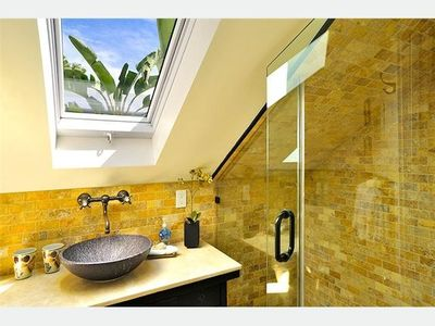 Key West house rental - The upstairs 3rd bathroom: beautifully finished.