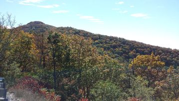Harrisonburg cabin rental - High Knob Fire Tower. 15 minute drive from cabin & 360 degree view of valley