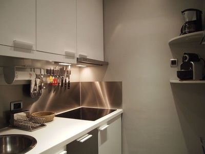 3rd Arrondissement Le Marais apartment rental - fully equipped kitchen ( dishwasher ).