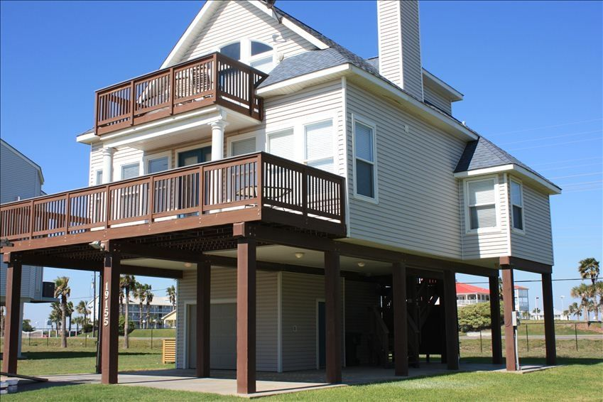 rent a beach house in galveston for the weekend