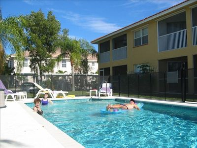 Large 33' x 16' Pool - exclusively for the 4-unit condo building