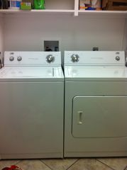 North Padre Island condo photo - Full size washer and dryer available in unit.