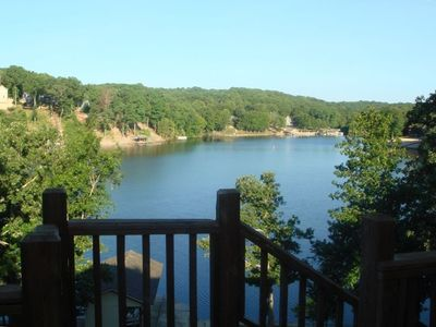 View of Lake from Back Deck