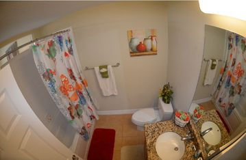 Master bathroom Tub & shower,vanities