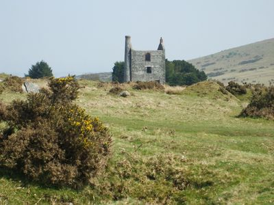 Old tin mine on Bodmin Moor