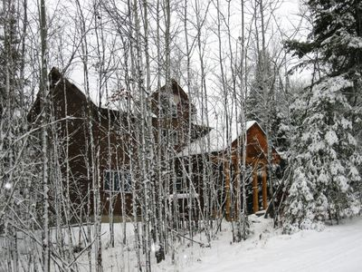 Winter at Peaceful Point - Snowmobile & XCSki Trails, Snowshoeing & Ice Fishing