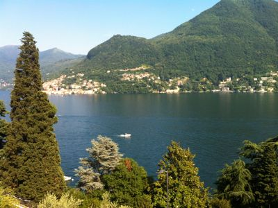 Best view on Lake Como. One bedroom apartment in Moltrasio