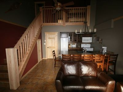 Open concept great room perfect for gathering friends and family together.
