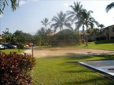 Keauhou condo rental - Volleyball and shuffle board courts
