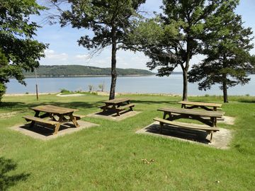 Picnic Area at Recreation Center