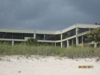 Deerfield Beach condo photo - View of Condo and Building taken from Beach area