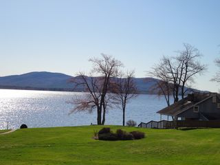 Ossipee Lake townhome photo - Ossipee Lake view from the deck and patio