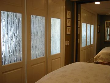 Sliding doors from King Bedroom open to Ocean View