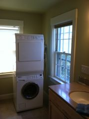 Provincetown condo photo - Washer Dryer in Master Bath