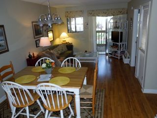 Port Royal villa photo - Dining room is nestled between kitchen & living rooms with space for a crew!