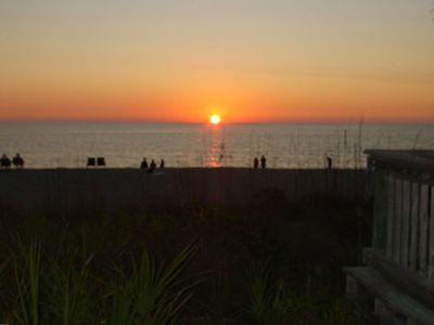 Manasota Key villa rental - SUNSET AT BEACH