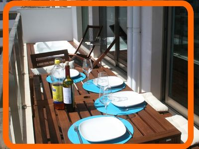 Modern apartment 2 minutes from the beach with indoor heated pool, jacuzzis
