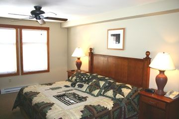 CONDO 1- Master with King bed.
