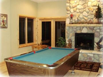 Walkout Basement Pool Room