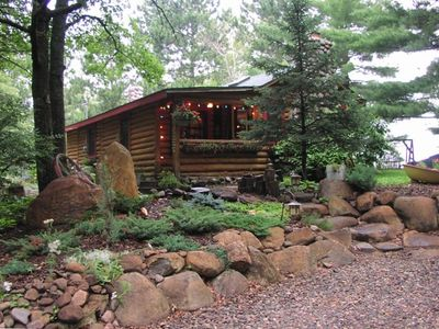 Pine River cabin rental - Relax among the pines
