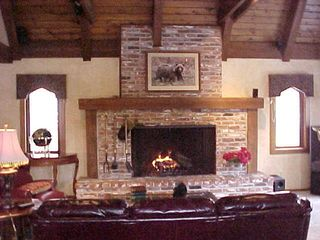 Zephyr Cove house photo - Grand fireplace